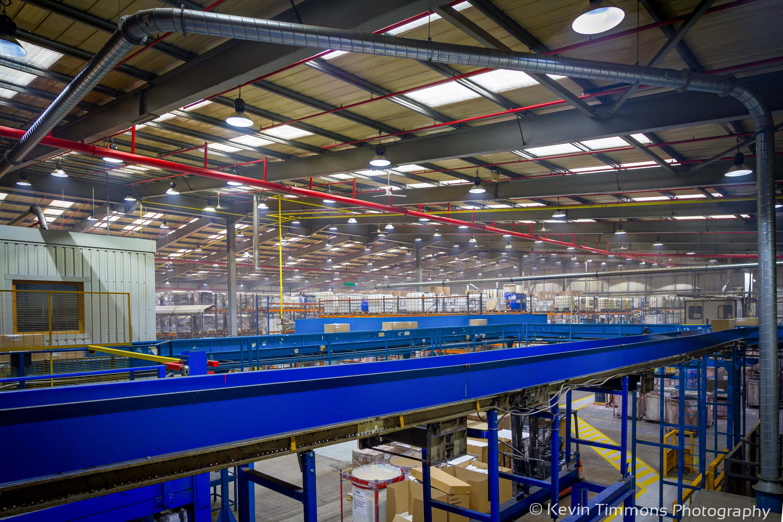 Large wallpaper manufacturing warehouse